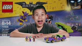 THE JOKER NOTORIOUS LOWRIDER - The LEGO Batman Move Set 70906 Time-lapse, Unboxing & Review