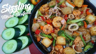 Sizzling Mixed Seafood