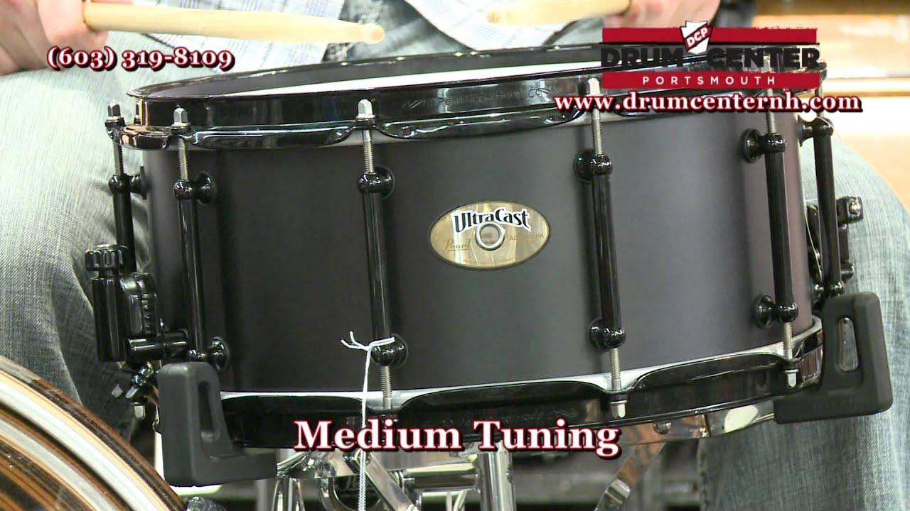 pearl ultracast aluminum 14x6 5 snare drum youtube. Black Bedroom Furniture Sets. Home Design Ideas