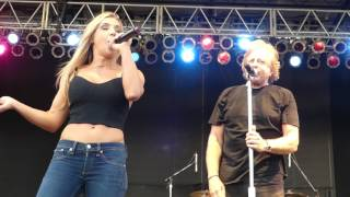 Eddie Money Performing Take Me Home Tonight at The Great South Bay Music Festival