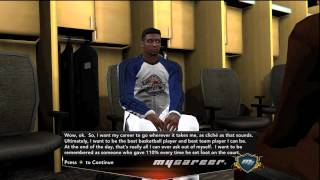 Nba 2k13 MyCAREER - Pre-Draft Interviews - Potential 1st Round Pick? Ft. The Brown Mamba