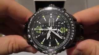 Обзор мужских наручных часов Seiko Sportura Chronograph SNAE97
