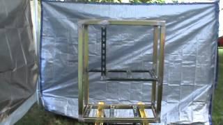 Steel Aquarium Stand 003