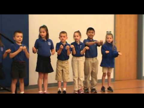 Huron Valley Catholic School First Grade Group Poem Readings May 2014