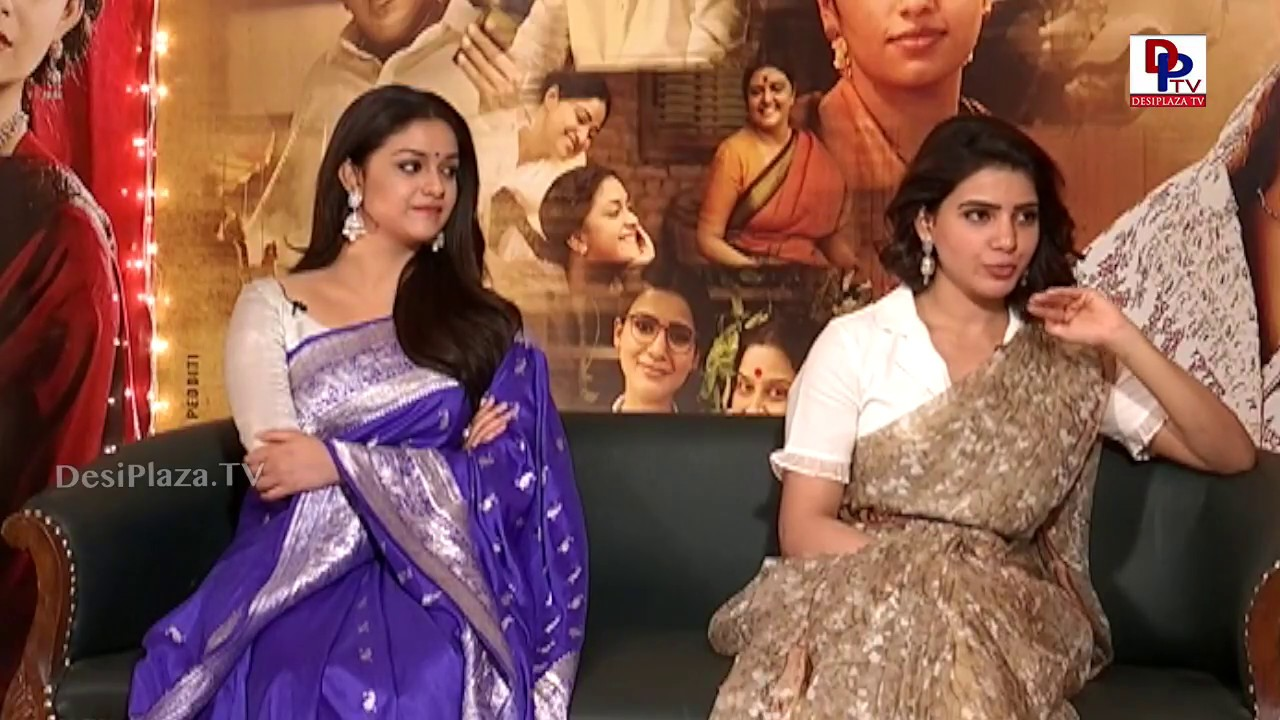 Very Funny and Hilarious Keerthy Suresh and Samantha Interview about Mahanati Movie | DesiplazaTV