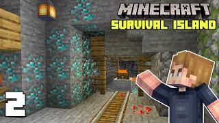 Minecraft: Great Mining Lขck   Survival Island 1.17