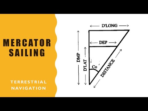 Mercator sailing calculations