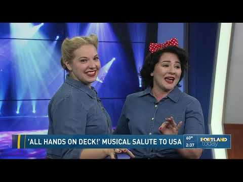 'All Hands on Deck!' musical salute to USA