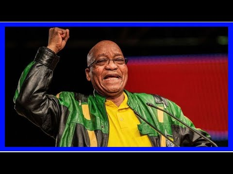 Headline News - How jacob zumas picture President South Africa speaking