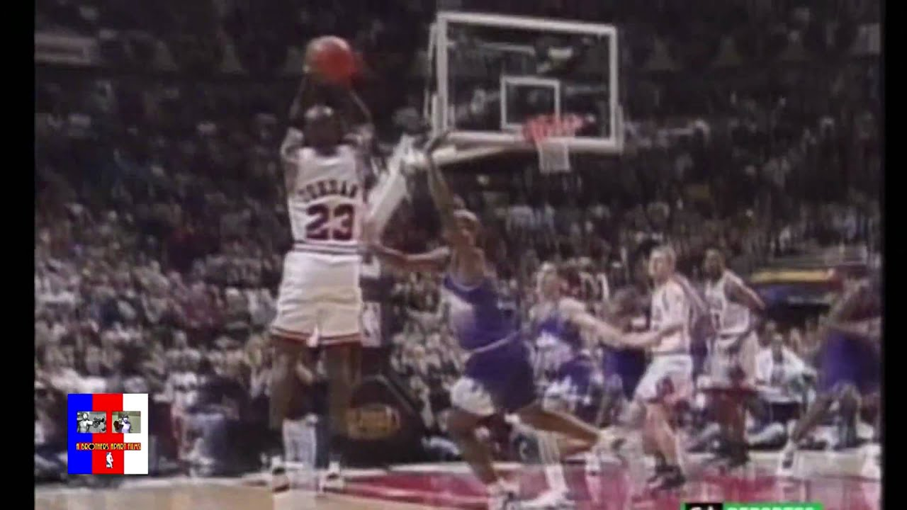 Michael Jordan Game Winner Vs Utah NBA Finals 1997 - YouTube