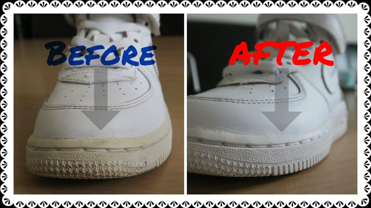 Peroxide White Shoes