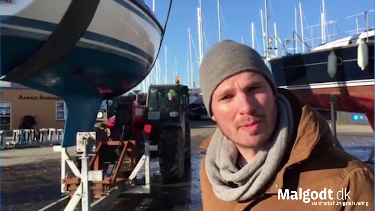 Vinterklar Båd Med Malgodt Youtube