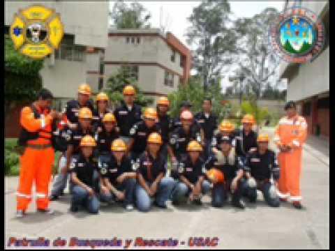 Patrulla de Rescate USAC, Simulacro 2008