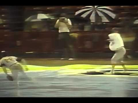 Kristin - Barrington Little League Team and Rain Delays