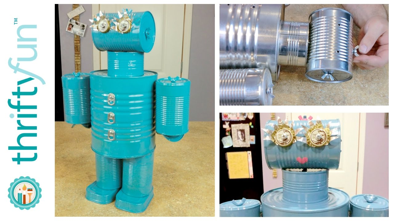 How To Make A Tin Can Robot