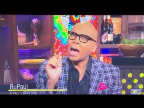 """""""WATCH WHAT HAPPENS LIVE"""" WITH RUPAUL AND NAOMI CAMPBELL!!"""