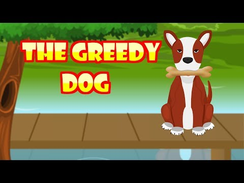 The Greedy Dog Moral story in English | Small Moral Story for kids | Kid2teentv