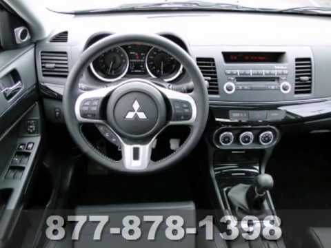 2013 mitsubishi lancer evolution leather sunroof rockford fosgate st paul white bear lake mn 68163