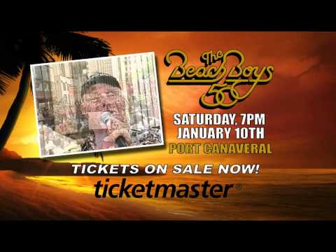 The Beach Boys Will Rock Port Canaveral January 10, 2015