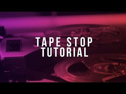 How To Get The Tape Stop Effect (FL Studio Tutorial)