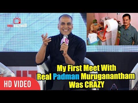 My First Meet With Real Padman Muruganantham Was CRAZY   Akshay Kumar   PADMAN