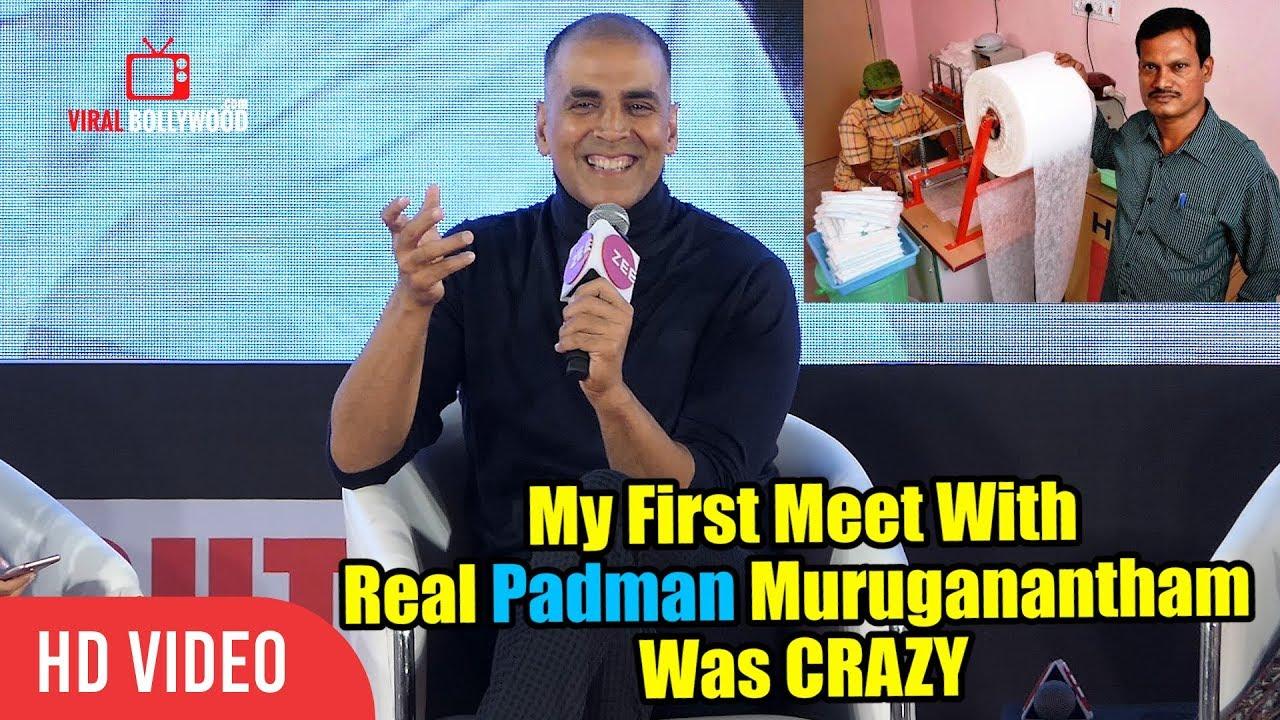 Download My First Meet With Real Padman Muruganantham Was CRAZY | Akshay Kumar | PADMAN