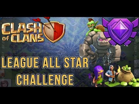 Clash Of Clans League All Star Challenge 2000 Trophies