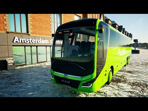 Coach Bus Simulator - NEW DLC Netherlands Gameplay! 4K
