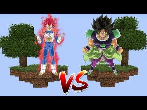ILHA DO VEGETA SUPER SAIYAJIN GOD VS ILHA DO BROLY no MINECRAFT !! (DRAGON BALL SUPER FILME) thumbnail