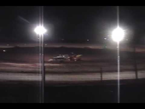 Racing White Sands Speedway Tularosa NM 07 04 2009 21p Heat Race