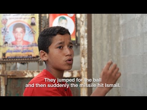The Children Who Live Under Israel's Missiles