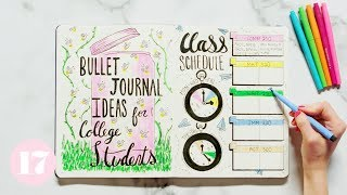 Bullet Journal Ideas For College Students | Plan With Me