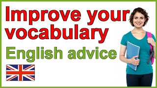 How to improve your English vocabulary