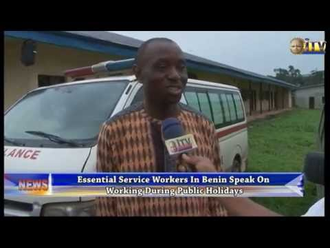 Essential Service Workers In Benin Speak on Working During Public Holidays