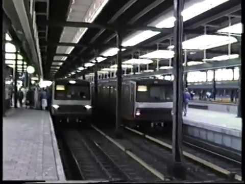 Amsterdam Metro/Underground Trains 1987