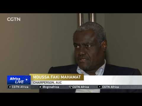 AUC Chairperson Moussa Faki appeals to China for help