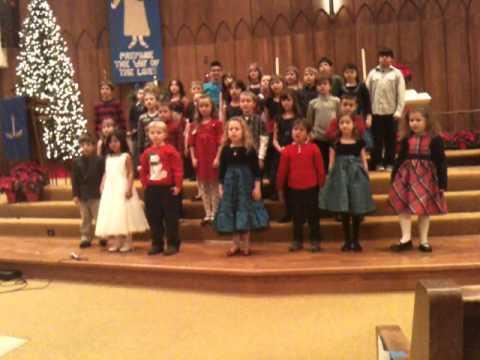 Christmas Carol Medley - Glendale Lutheran School Children's Chior