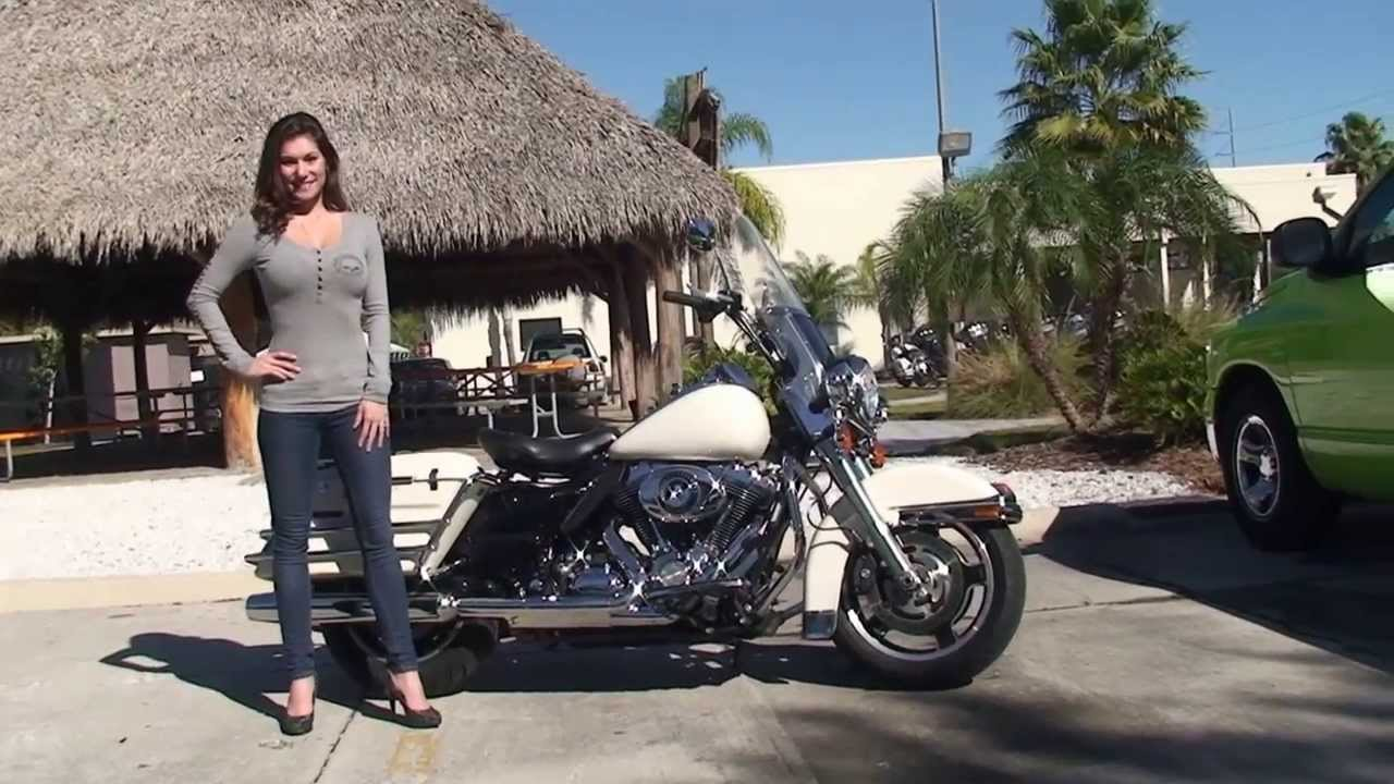 Used Harley Davidson For Sale Minnesota >> 2010 Harley Davidson Road King Police Motorcycle for Sale - Wesley Chapel, FL - YouTube
