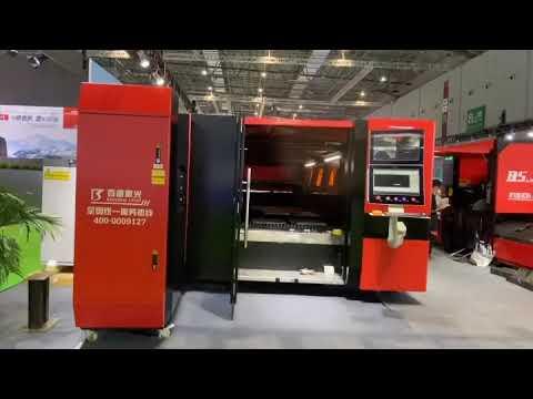 Shanghai Exhibition Center - F6020HDE Máquina Industrial Laser Fibra BaishengLaser