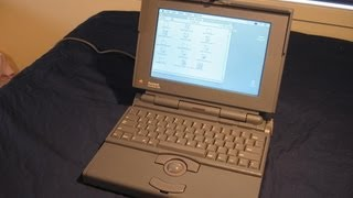 The Apple Macintosh Powerbook 145B: As seen in Tezza