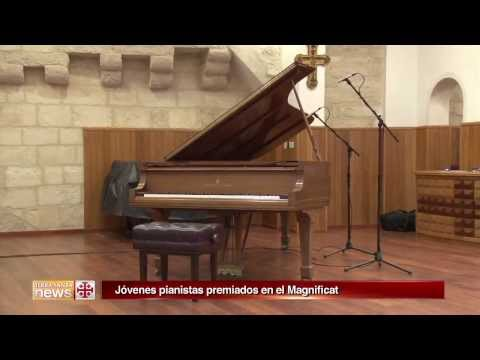 The Franciscan Media Center reports on the Piano Competition 2014 [Sp]