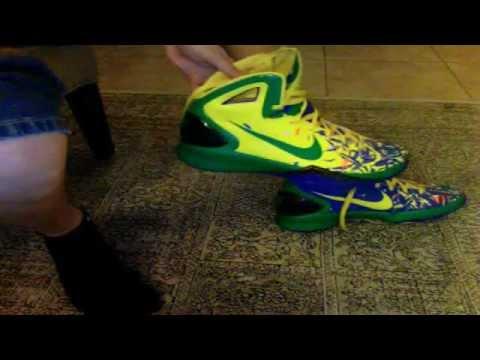 4b1e29120d81 Nike Hyperdunk 2010 Brazil Edition On Feet - YouTube