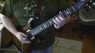 Waitin for the Bus ZZ Top guitar + solo PRS Custom 24