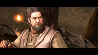 Mortal Kombat X : Bo Rai Cho All Intro Dialogues (MKX)