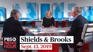 Shields and Brooks on Democratic debate, Bolton's departure