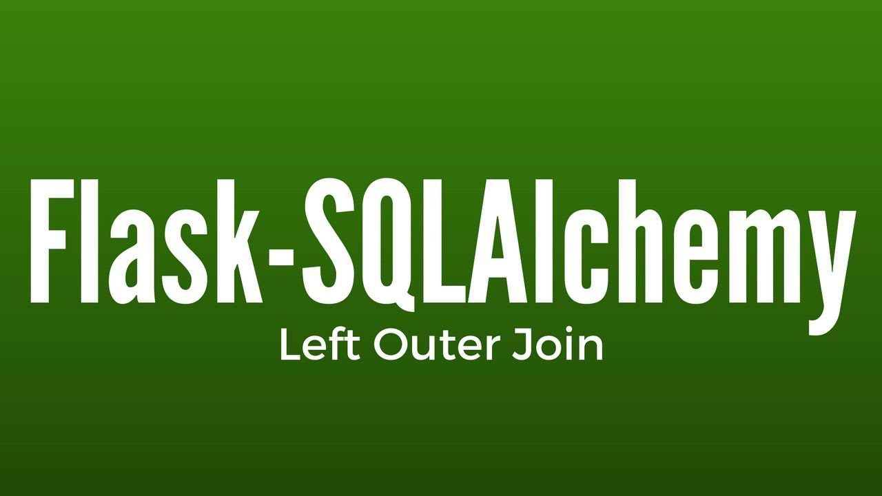 Left Outer Join in Flask-SQLAlchemy