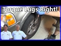 HOW TO PROPERLY TORQUE WHEEL LUG NUTS EASY!