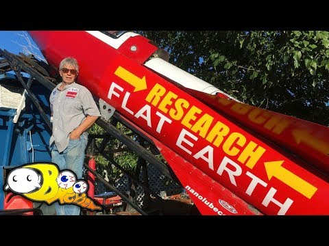 Flat Earth Rocket Launch (The Legend of Mad Mike Hughes)