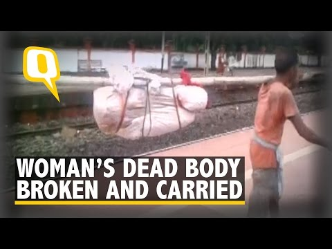 the-quint:-woman's-dead-body-broken-at-hip-and-carried-by-hospital-workers