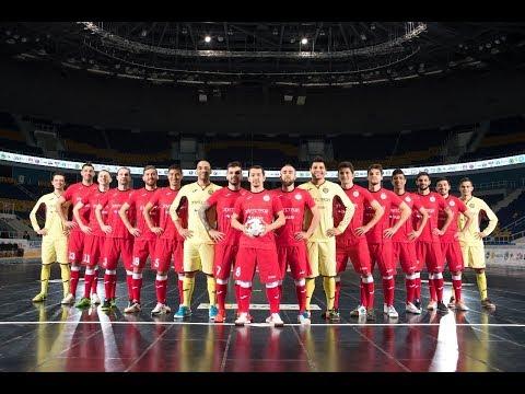 UEFA Futsal Cup. Braga/AAUM vs Kairat